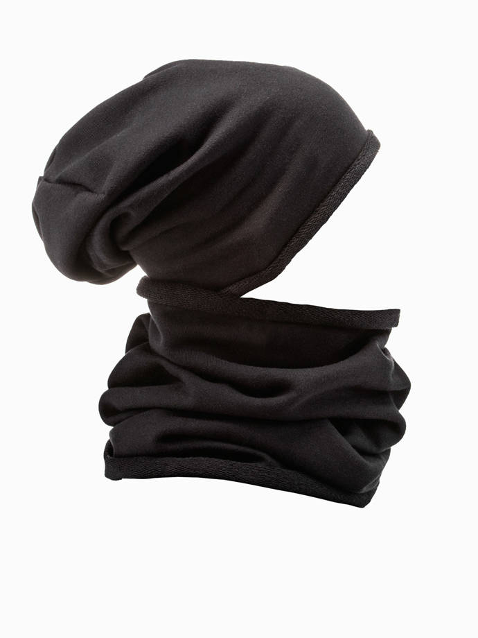 Men's snood A063 - black