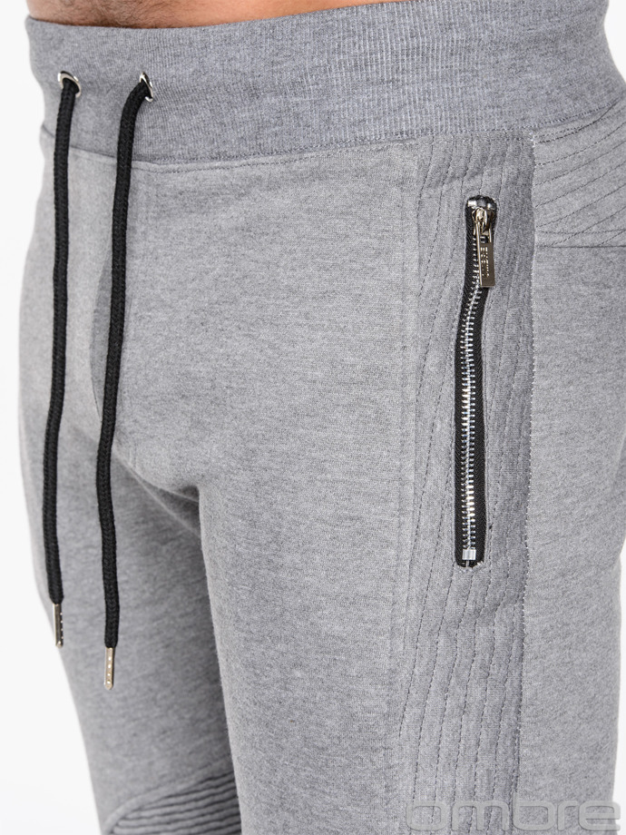 Men's sweatpants P466 - grey