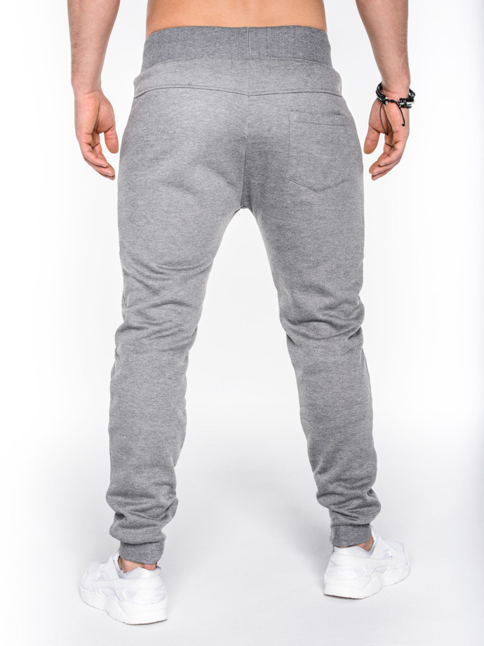 Men's sweatpants P469 - grey