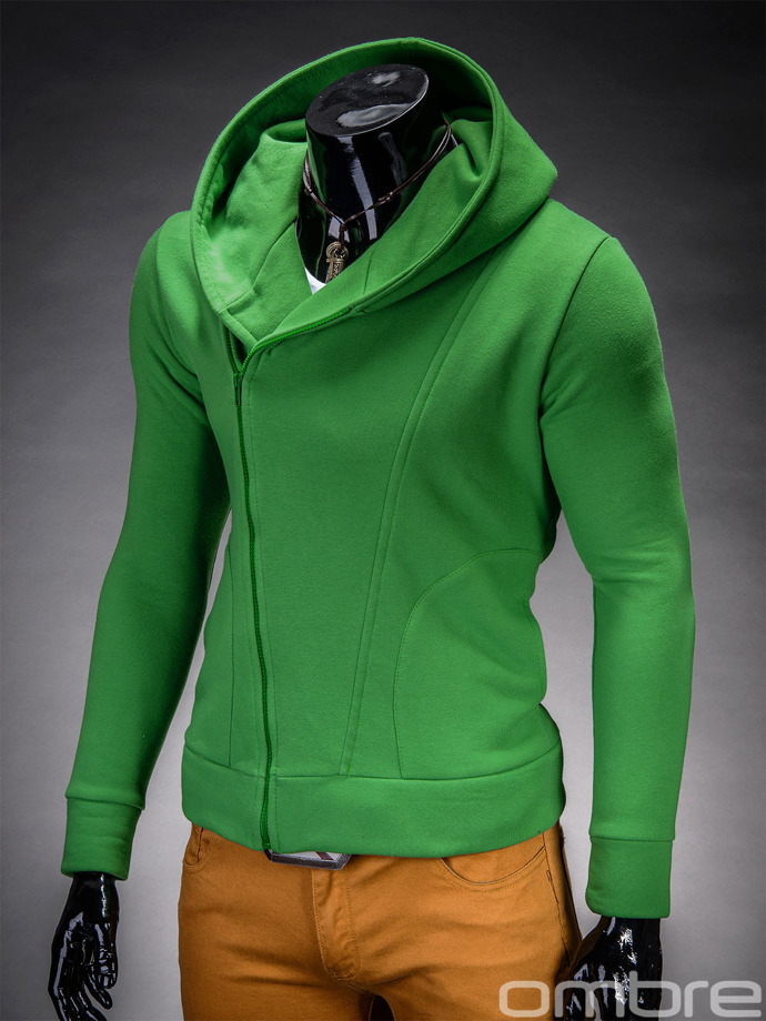 Men's zip-up hoodie PRIMO - green